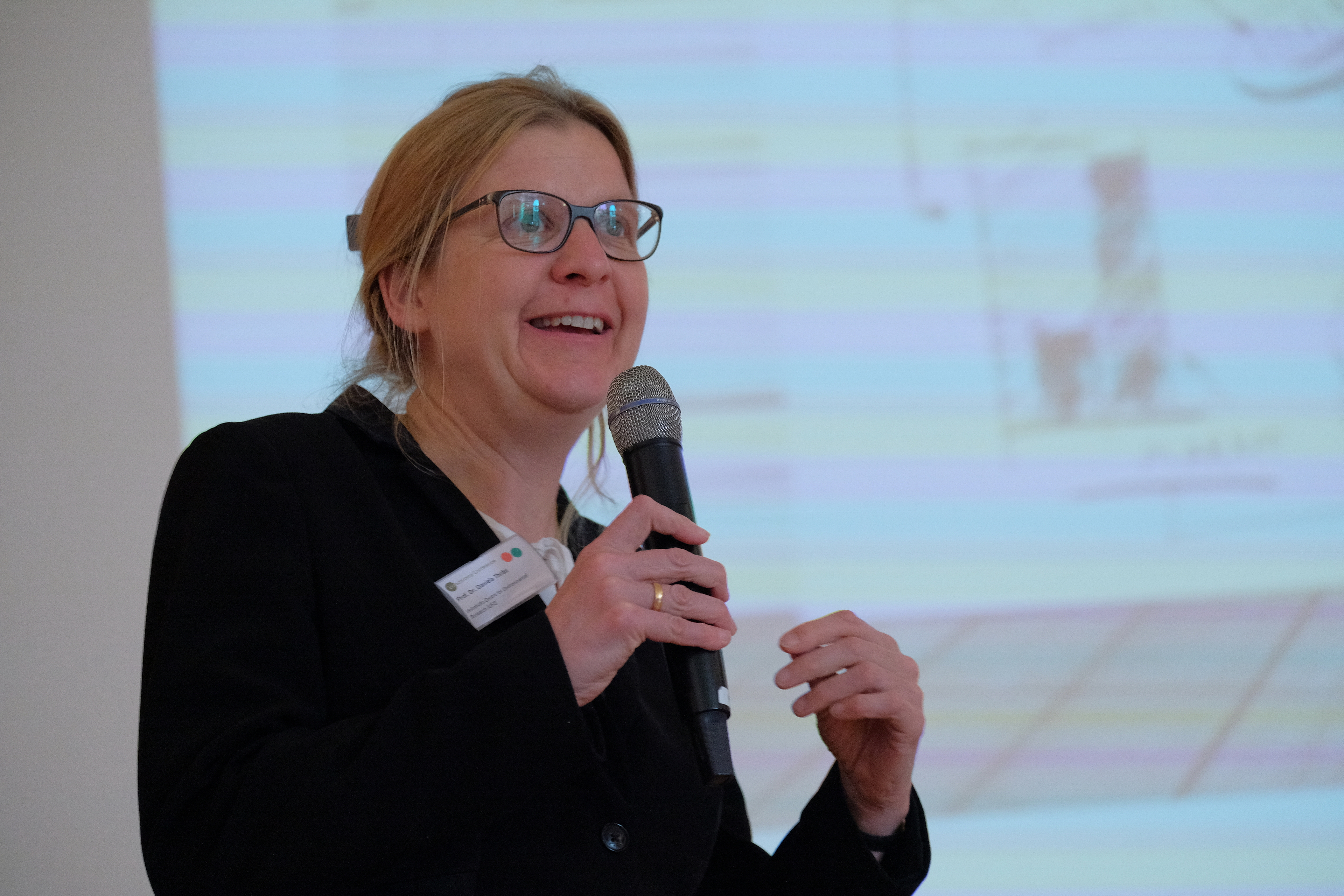 Chairwoman Daniela Thraen of the German Bioeconomy Council (Foto: Michael Deutsch).JPG
