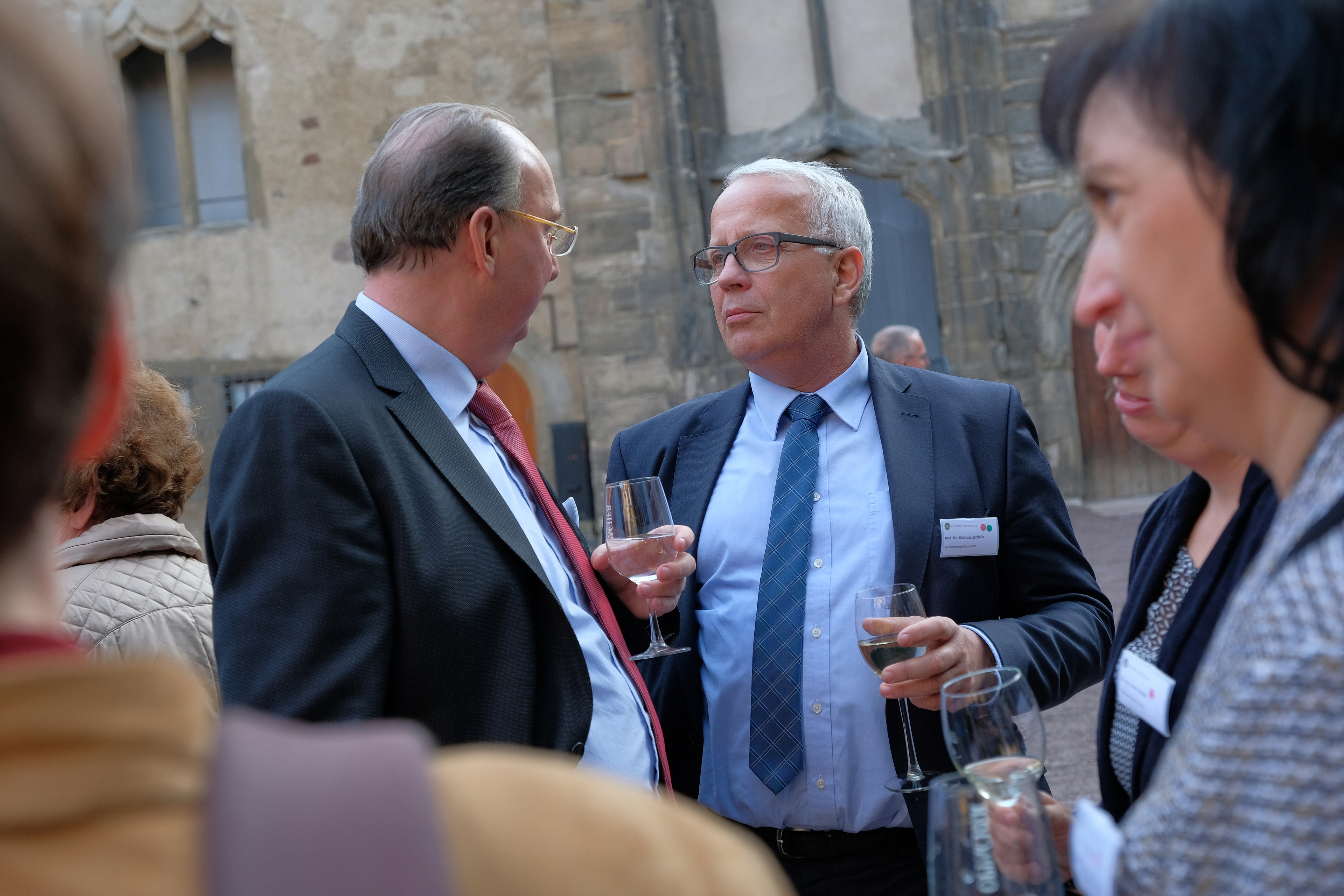 Horst Mosler and Matthias Zscheile at the dinner event (Foto: Michael Deutsch).JPG