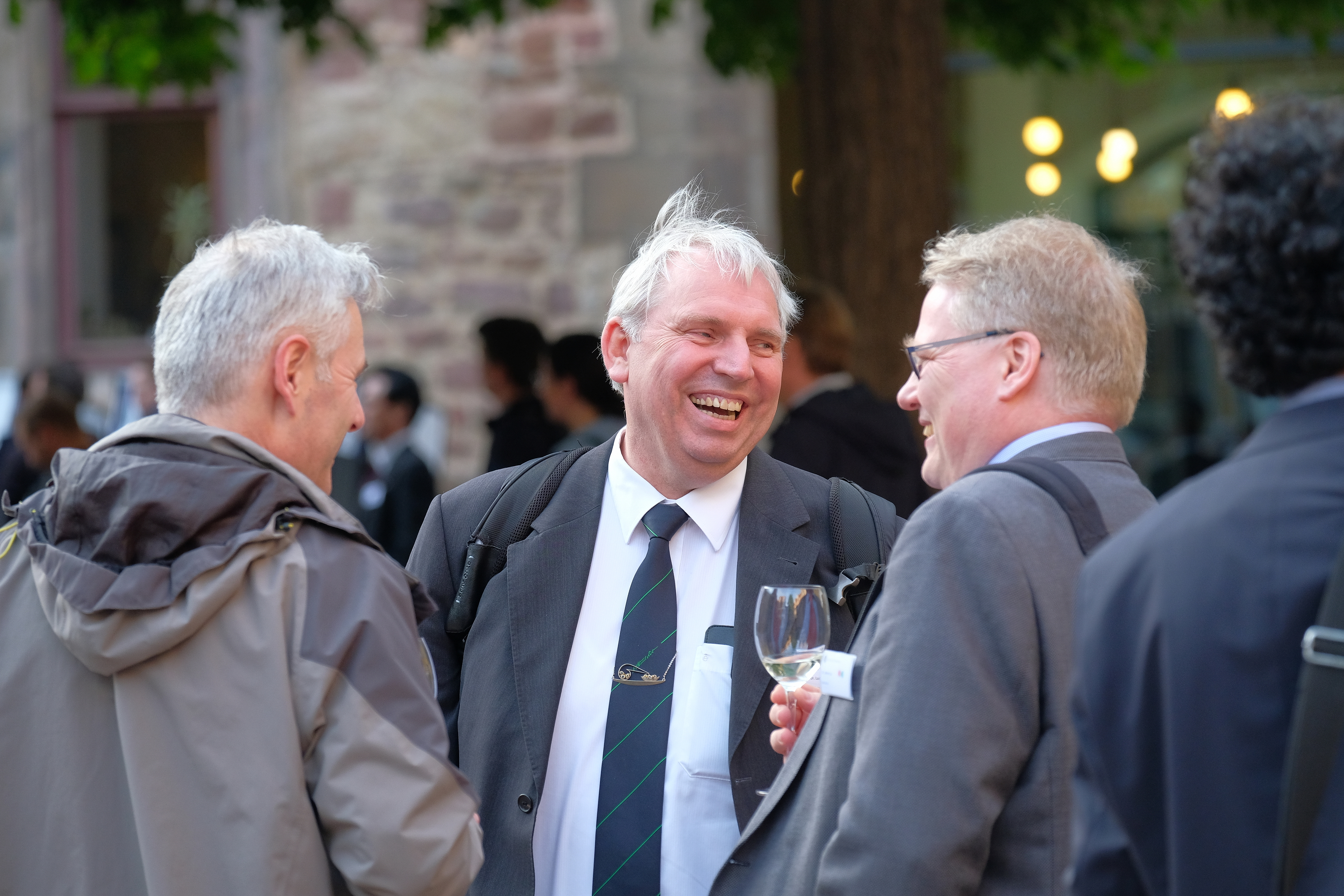 Ludger Wessjohann at the dinner event in the Moritzburg Halle (Foto: Michael Deutsch).JPG